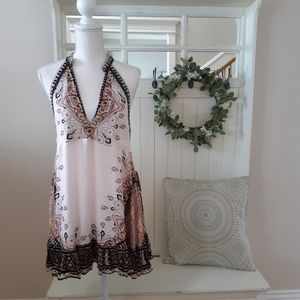 NWT! Pale Pink Free People Mini Sundress